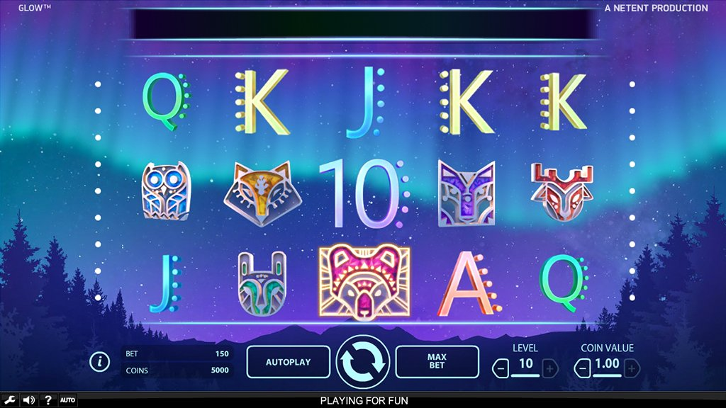 Glow slot gameplay