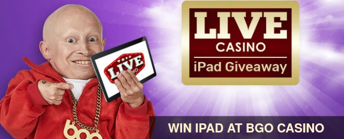 Play at bgo casino and win an ipad