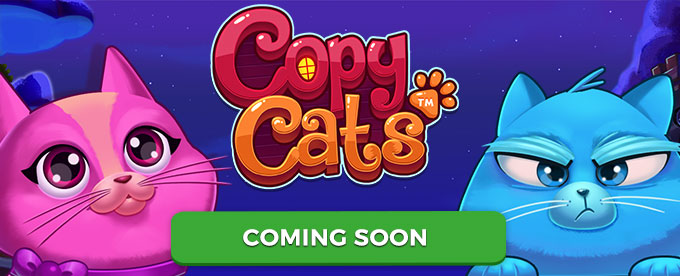 NetEnt Copy Cats slot is coming soon!
