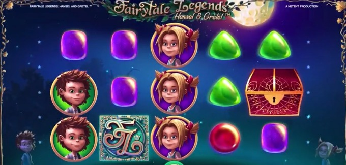 Play Fairytale Legends: Hansel and Gretel slot at Casumo casino