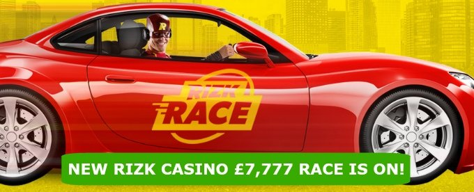 April 2017 Rizk casino Race is on!