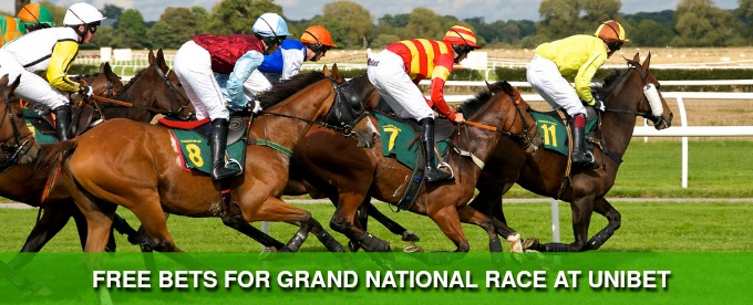 Win Grand National Free Bets at Unibet