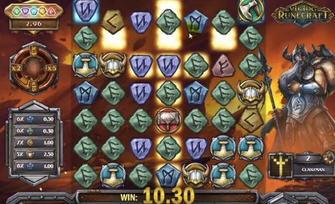 Play Viking Runecraft slot at InstaCasino soon