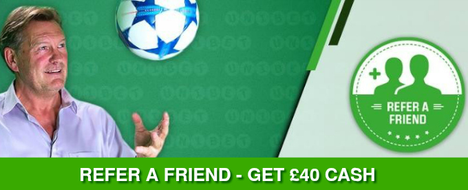 Refer friends and get up to £200 Reward at Unibet