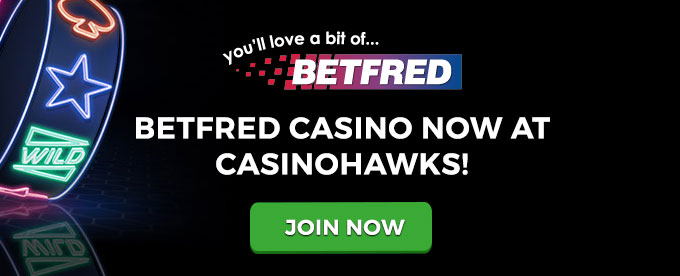 Join Betfred casino now!