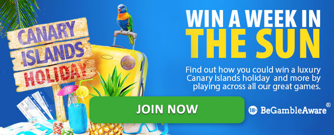 bgo casino's Week in the Sun promotion