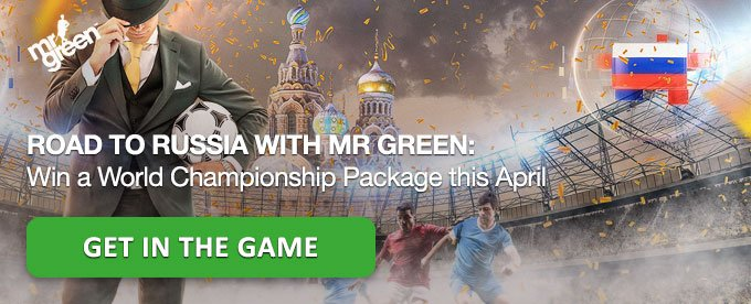 Get in the Game and win a trip to Russia