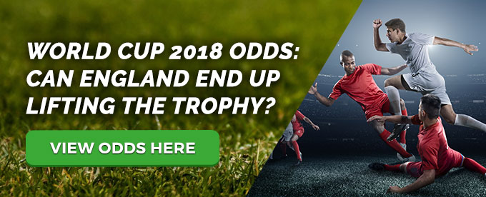 View England World Cup 2018 Odds here