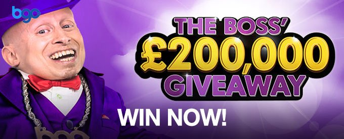 Win up to £5K at Bgo Casino