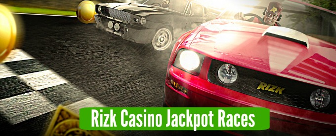 Join Rizk Casino jackpot races now