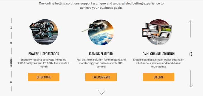 SBTech solutions for casino and sportsbook operators