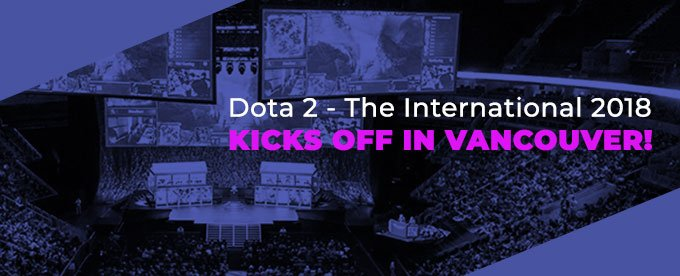 Dota 2 The International has just started!