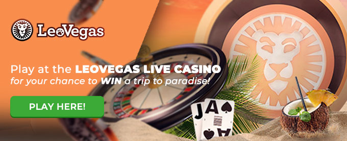Click here to play at the LeoVegas live casino!