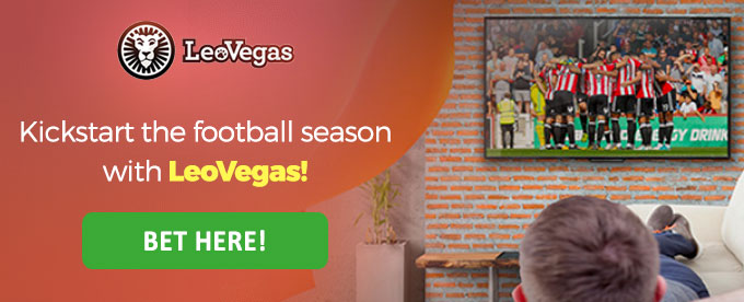 Click to bet with LeoVegas!