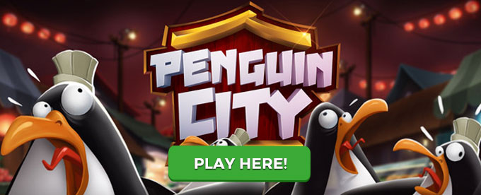 Click here to play Penguin City slot!