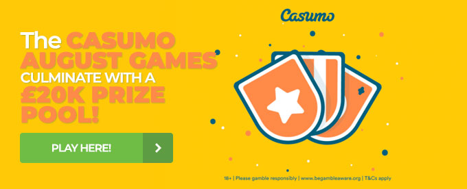 Click here to join Casumo casino