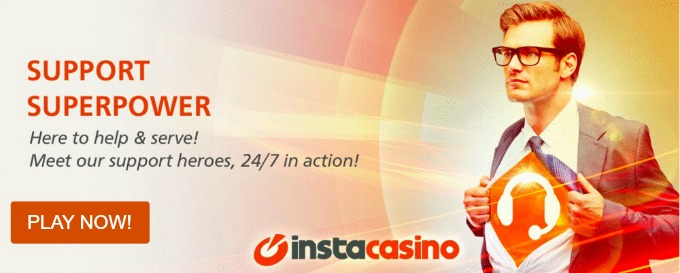 instacasino customer support