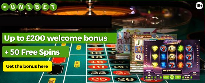 Get Unibet Welcome Bonus