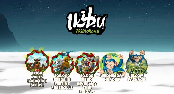 Get bonuses and seeds at Ikibu Casino