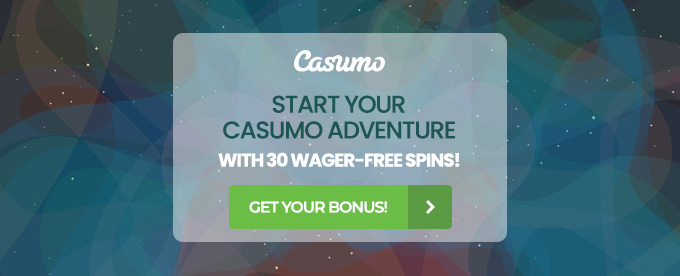 Click here to go to the Casumo casino login page