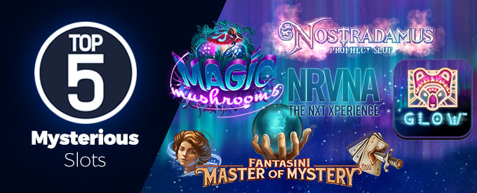 Play the top 5 mysterious slots at Casumo Casino