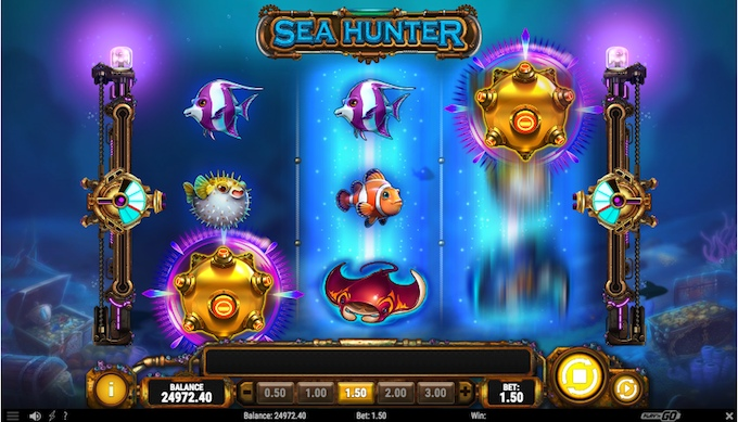 Sea Hunter bonus meters