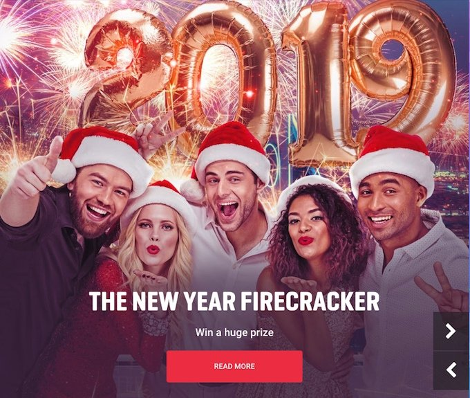 New Year casino promotion at Guts casino