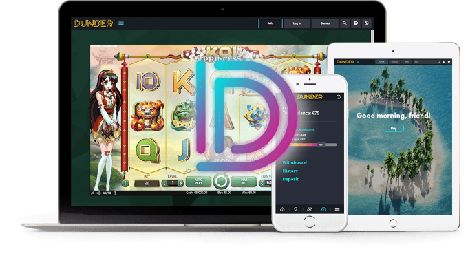 Play Dunder Mobile casino