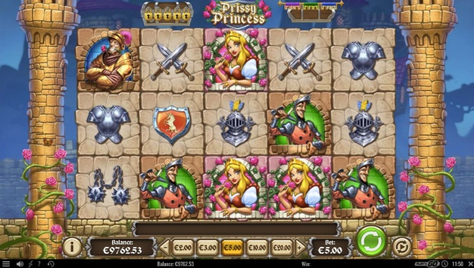 Play Prissy Princess slot at LeoVegas casino