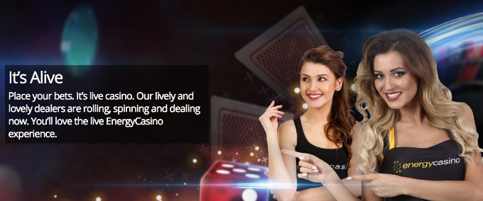 Energy casino - Live games