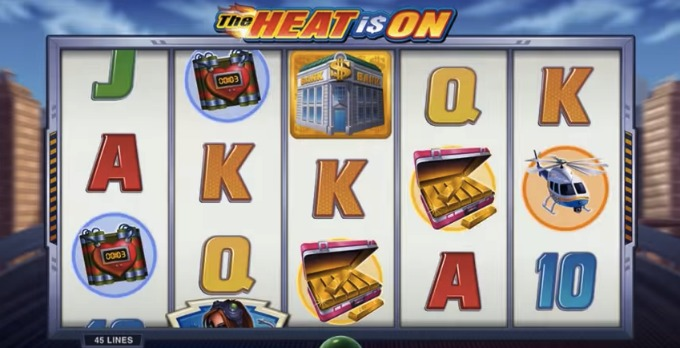 Play The Heat is On slot at LeoVegas casino