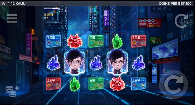Kaiju slot_base game