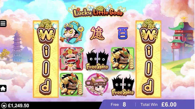Lucky Little Gods free spins