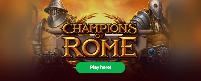 Click here to play Champions of Rome slot