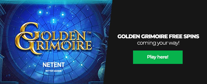 Click here to play Golden Grimoire slot