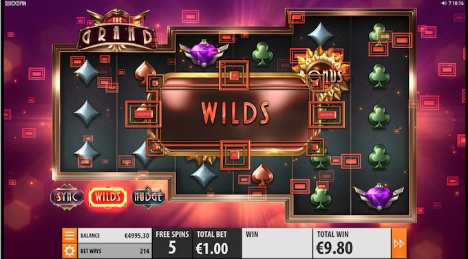 The grand slot wilds