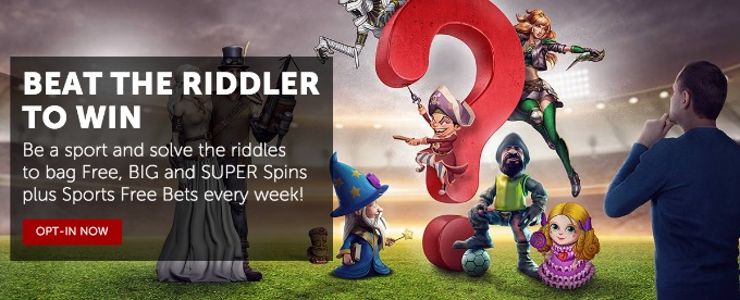 Solve riddle and win prizes with Betsafe casino