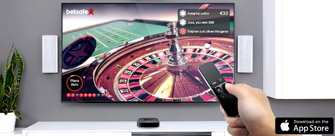 Betsafe launched new app for Apple TV