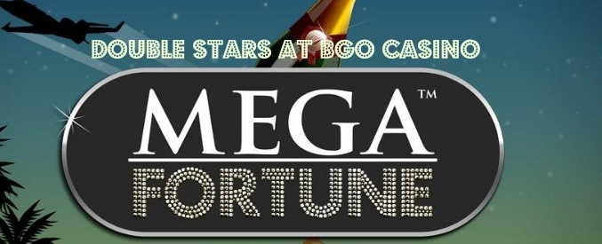 Get double starts on Mega Fortune slot at Bgo casino