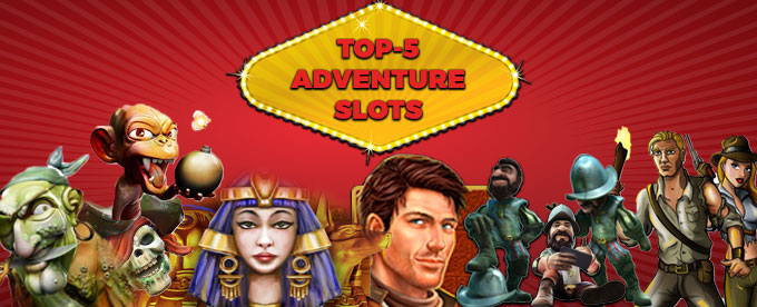 Play all the best adventure slots at Casumo Casino