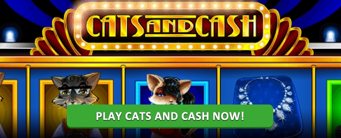 Play Cats and Cash slot at Rizk casino