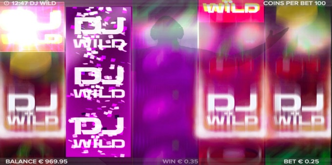 Play DJ Wild slot at Rizk casino