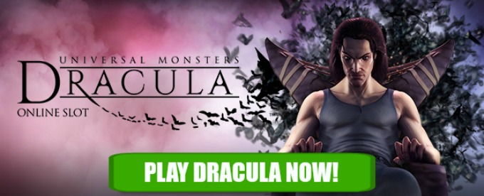 Play Dracula slot at Dunder casino