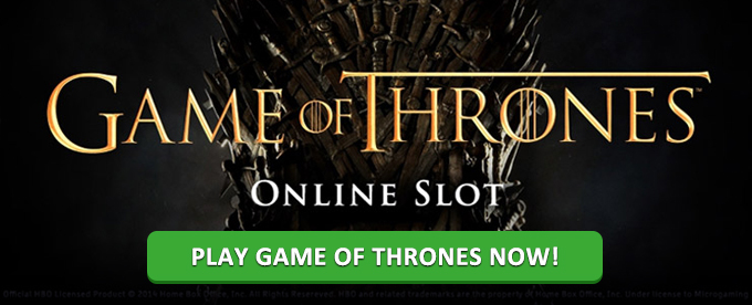 Play Game of Thrones slot at Maria casino