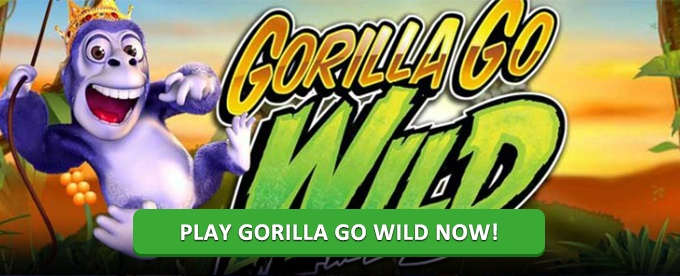 Play Gorillla Go Wild at LeoVegas casino