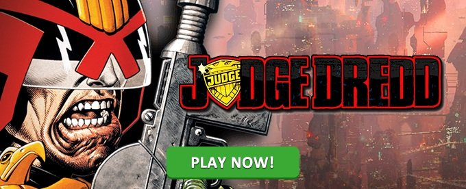 Play Judge Dredd at Mr Green Casino