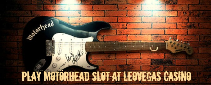 Win Lemmy's guitar and cash with LeoVegas Motorhead promo