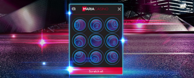 Get Free Scratchcards at Maria Casi