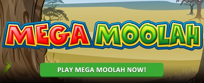 Play Mega Moolah slot at Dunder casino