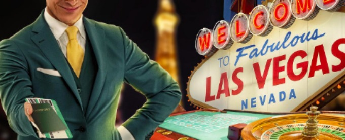 Go to Las Vegas in style with Mr Green Casino